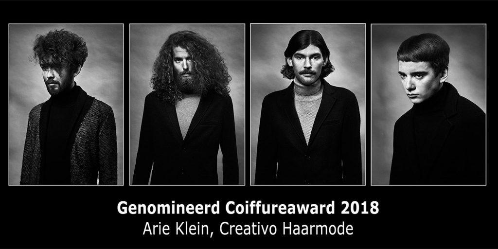 Coiffure Award Arie klein creativo haarmode